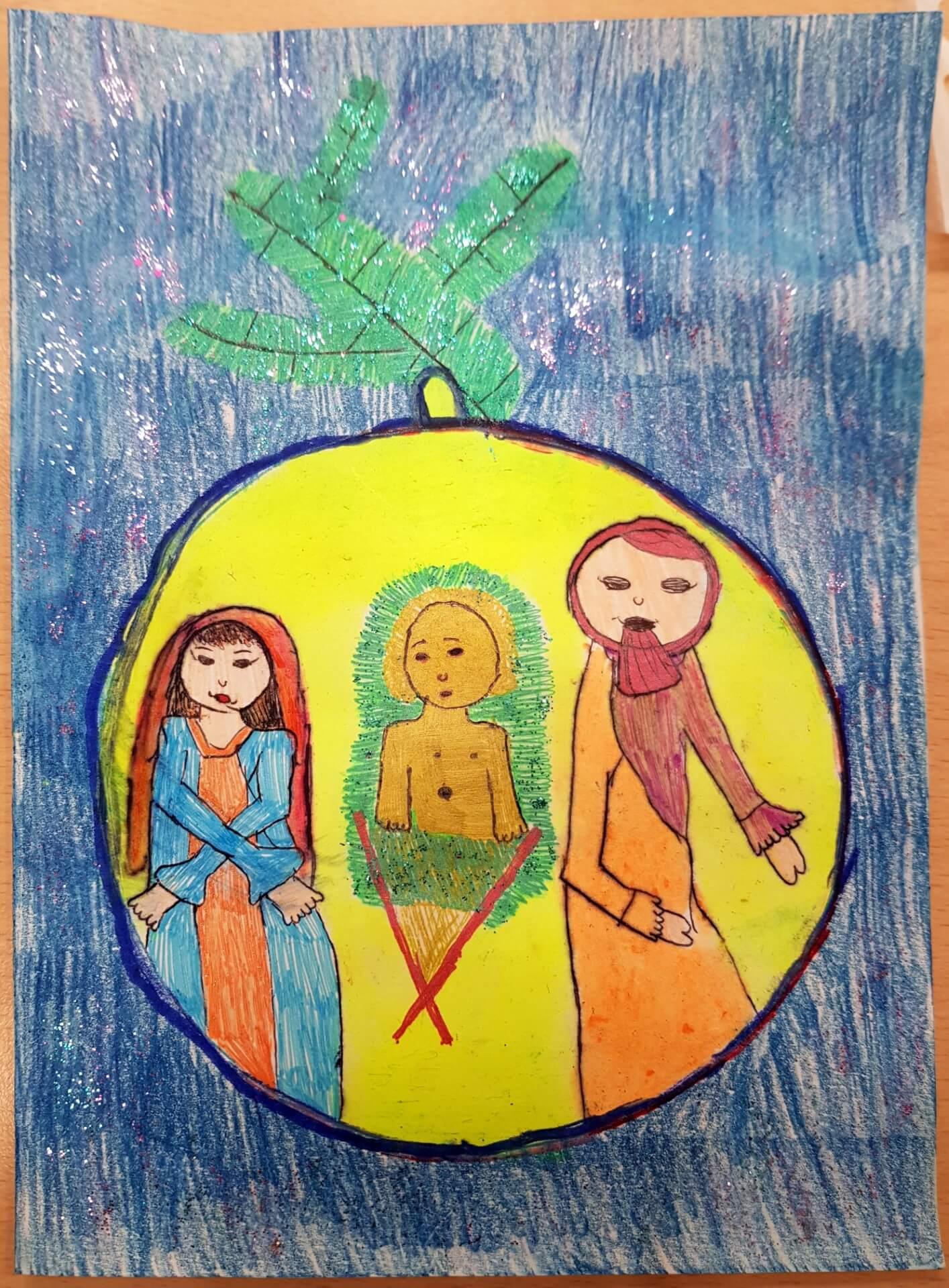 Kartka 10, Marta Erlebach, 5 lat, Boronów