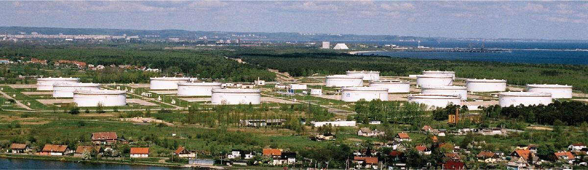 , Magazynowanie ropy i produktów naftowych
