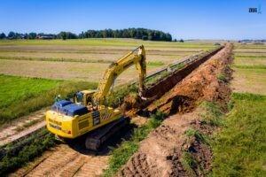Postępy prac przy budowie rurociągu, Postępy prac przy budowie rurociągu Boronów-Trzebinia